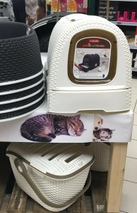 Arenera- Baño de Gatos