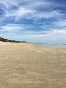 Playas normandas Veules-les-Roses