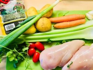 Ingredientes para el Ajiaco